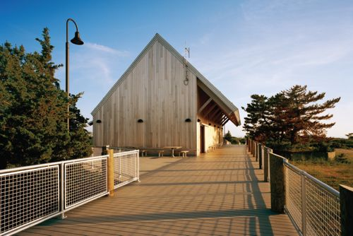 Bathhouse and Visitor Center
